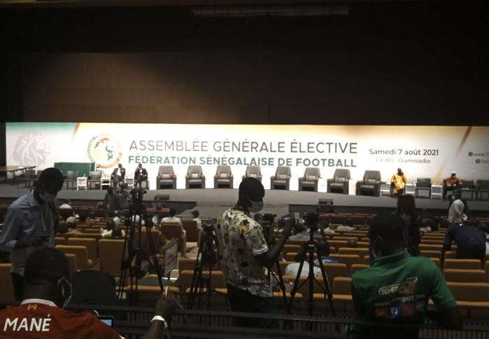 AG élective FSF : Journée décisive dans le duel Senghor/Touré, le CICAD de Diamniadio sous bonne surveillance...