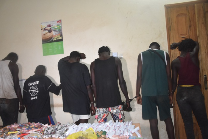 Saly : une bande de sept redoutables cambrioleurs mise hors d'état de nuire hier