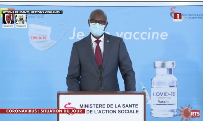 Vaccination des femmes enceintes, mutations du virus : Le Professeur Ndiaye précise et rassure.