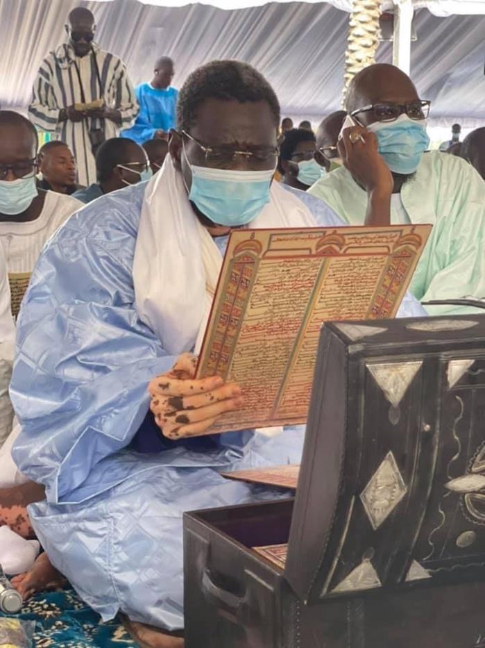JOURNÉE DES QACAÏDS À TOUBA / Serigne Amsatou Mbacké Ibn Serigne Souhaibou déjà à l'œuvre.