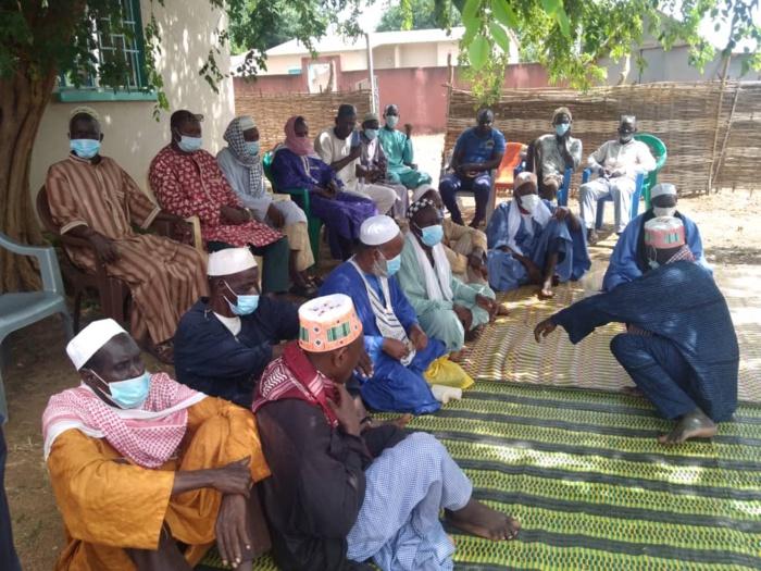 Kédougou / Inauguration du centre de santé secondaire : le maire, Mamadou H. Cissé soulage les populations du quartier Ndiormi.