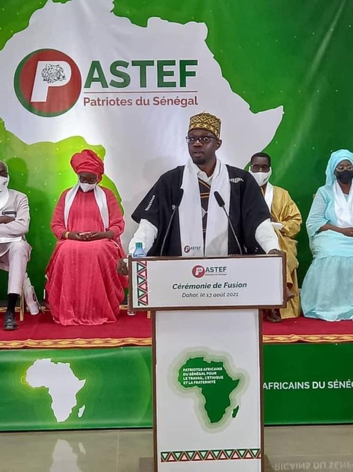 Fusion politique : PASTEF accueille 14 organisations et devient Patriotes Africains du Sénégal pour le Travail, l'Éthique et la Fraternité.