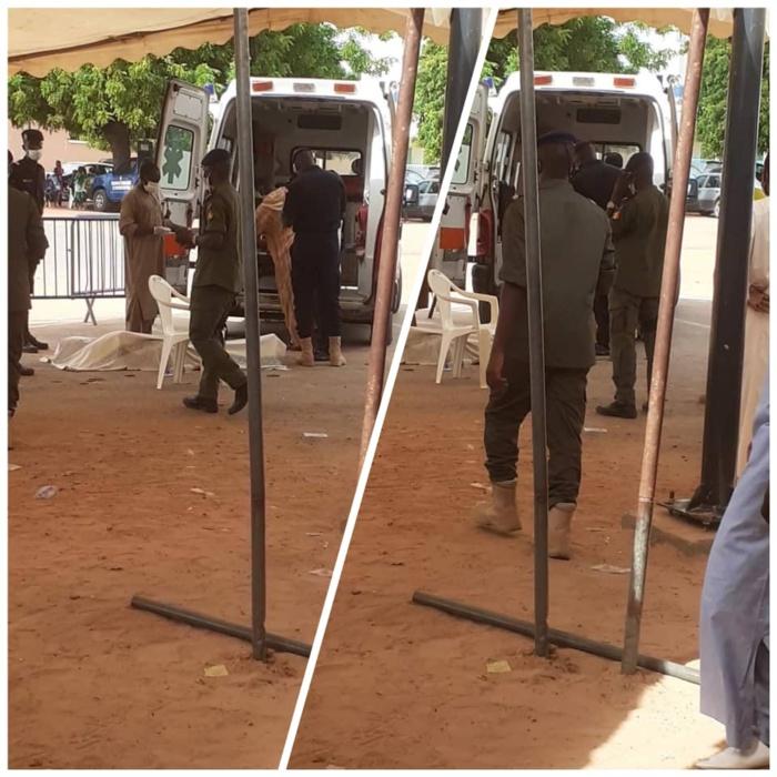 Thienaba : un homme descend de son véhicule s'assoit sur une chaise et meurt sur le coup