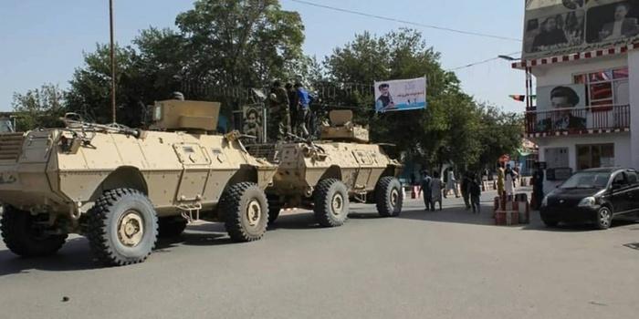 Afghanistan :  les Taliban à Kaboul.