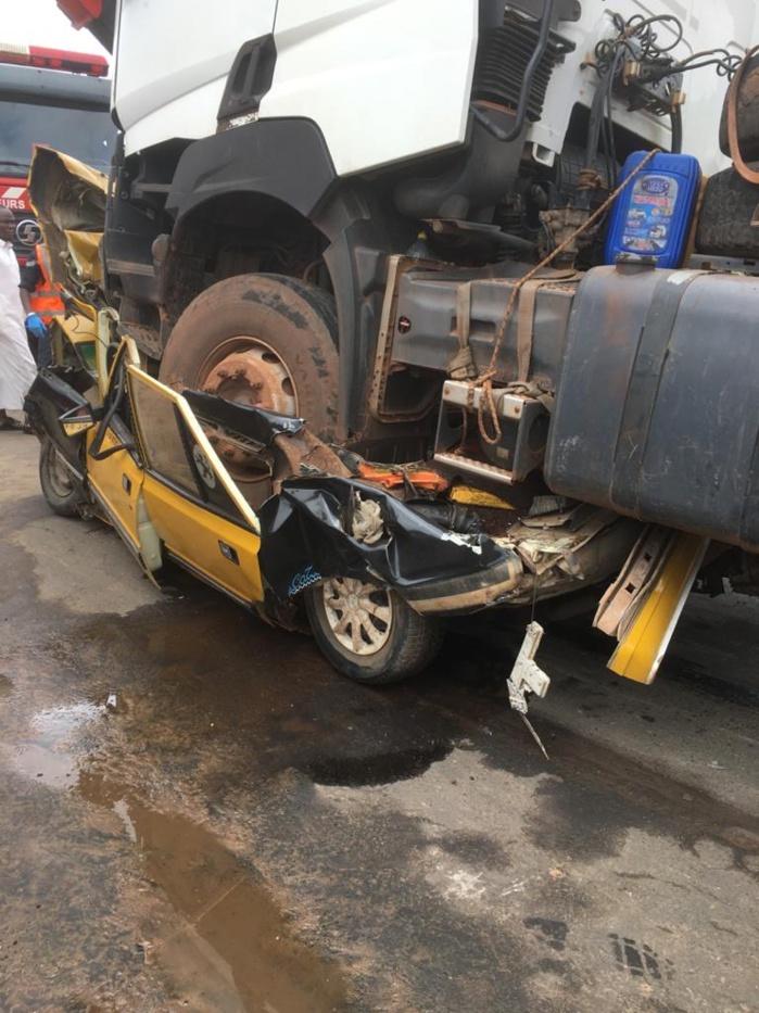 Kaolack : 04 morts et un blessé dans un accident de la circulation.