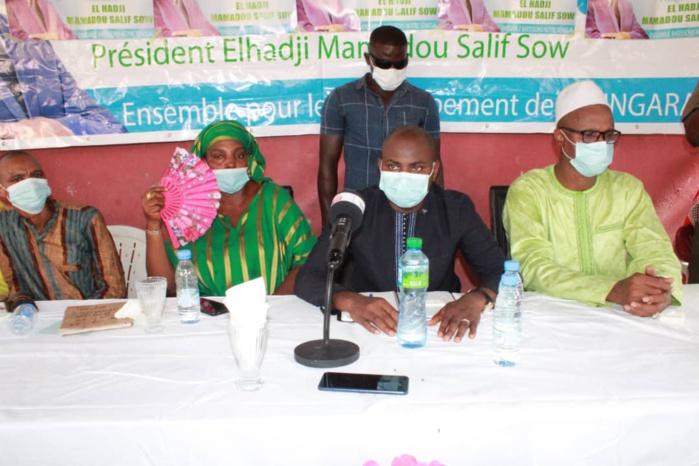 Locales 2022 à Kolda : Mamadou Salif Sow (président PEPS) : « Il faut une concertation commune de la coalition BBY pour le choix des futurs candidats… Dans la division on ne fait que s'affaiblir… »