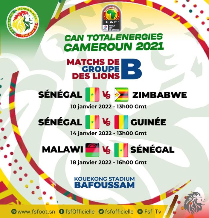 CAN 2022/GROUPE B : « Le Sénégal est dans un groupe a priori facile, mais avec un adversaire coriace » (anciens internationaux et spécialistes)