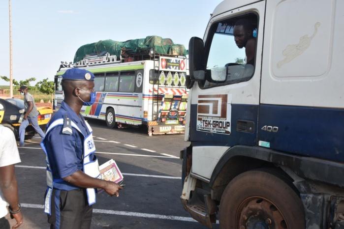 Sécurisation routière et trafic de drogue: 17 véhicules immobilisés et 6 individus interpellés pour trafic de drogue...