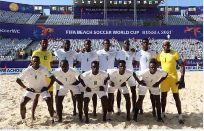 Mondial Beach Soccer 2021 : Le Sénégal démarre par une victoire 6-1 contre l'Uruguay avec un triplé de Raoul Mendy.