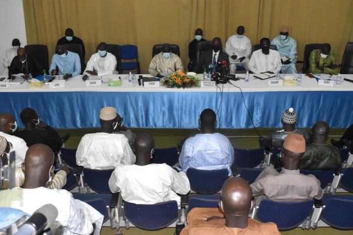 Fixation de la caution pour les élections locales : La rencontre se déroule à huis-clos.