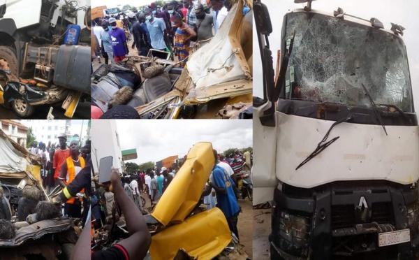Accident mortel à Kaolack : Le Collectif des acteurs des transports routiers du Sénégal condamne «les actes de vandalisme »