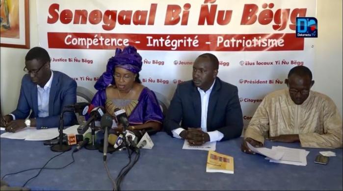 Avenir Sénégal Bi Nu Begg à l'opposition : « Nous devons fédérer pour renforcer plutôt que diviser pour affaiblir »