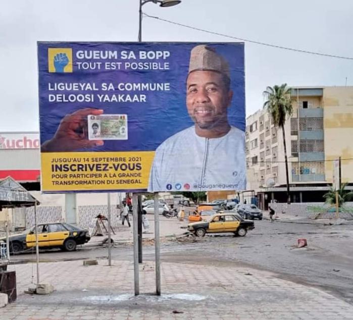 Commissariat central de Dakar : Bougane Guèye convoqué pour des affiches publicitaires ?