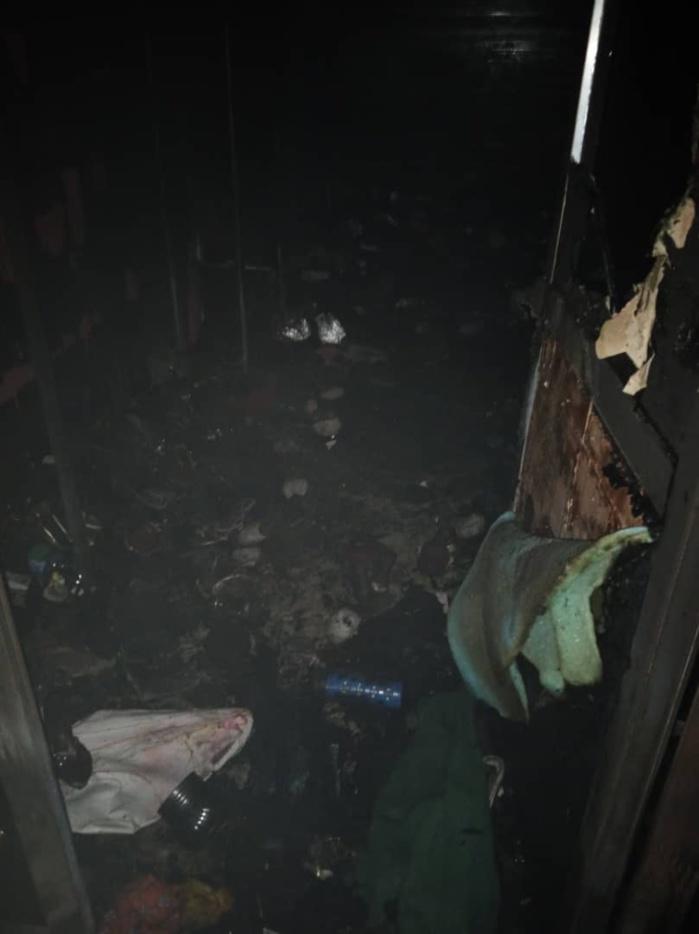 Kaolack : Énième incendie au marché central.
