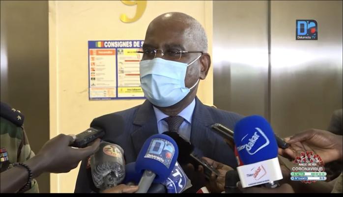 Décès du Président Hissène  Habré : Le Garde des Sceaux, ministre de la Justice Me Malick Sall réagit.