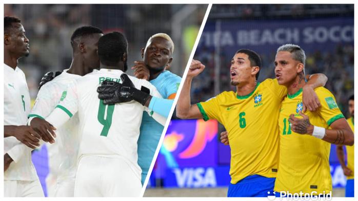 Coupe du monde Beach Soccer : Le Sénégal affronte le Brésil ce jeudi, en quart de finale (12h 00 Gmt)