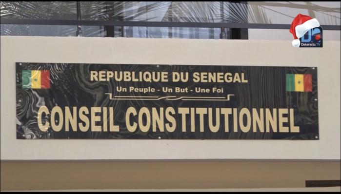 Conseil Constitutionnel : les nouveaux membres ont prêté serment hier mardi 24 août 2021.