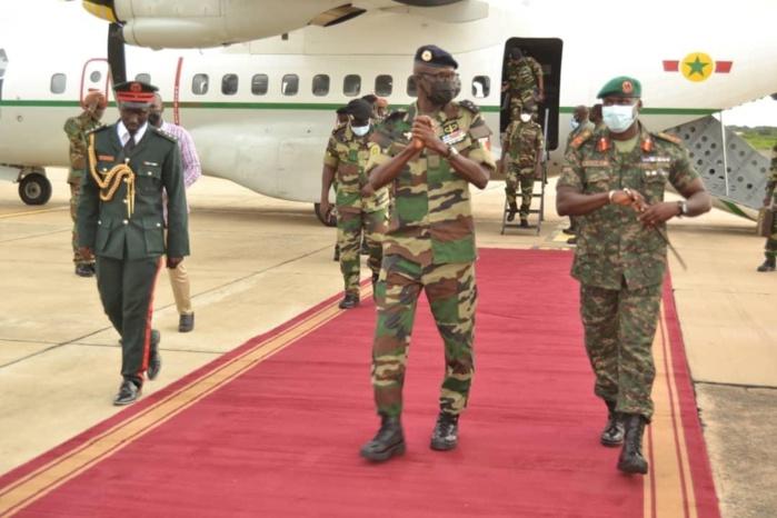 Armée : Le Cemga en visite en Gambie pour rencontrer la MISEGA.