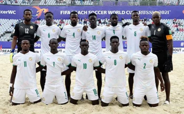 Coupe du monde Beach Soccer : Le Sénégal éliminé aux portes de la finale !