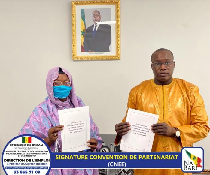 DIRECTION DE L'EMPLOI / Convention de partenariat avec onze structures privées à Touba