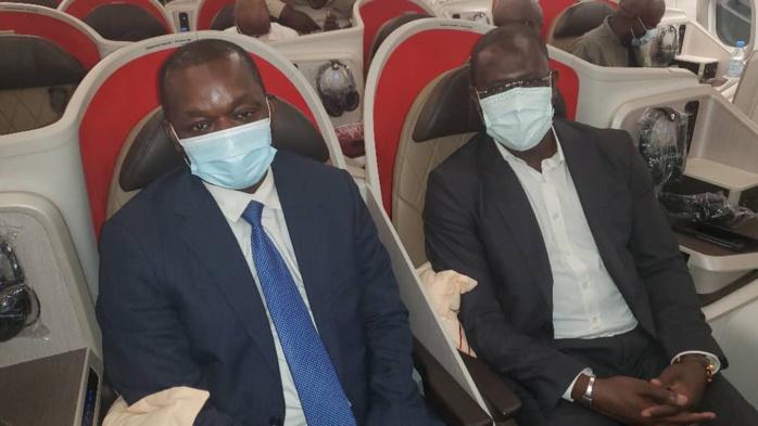 Air Senegal: le ministre Alioune Sarr, l'Ambassadeur des États Unis d'Amérique et le Directeur Général lancent officiellement la ligne Dakar- New York-Washington( les images)