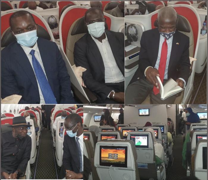 Transport aérien : Le ministre Alioune Sarr, l'Ambassadeur des Usa et le Directeur général d'Air Sénégal ouvrent officiellement la ligne Dakar-New-York-Washington.