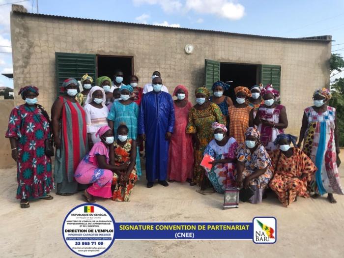 DIRECTION DE L'EMPLOI / Visite suivie de signature de partenariat au royaume d'enfance de Senghor : 42 femmes et 18 jeunes recrutés…