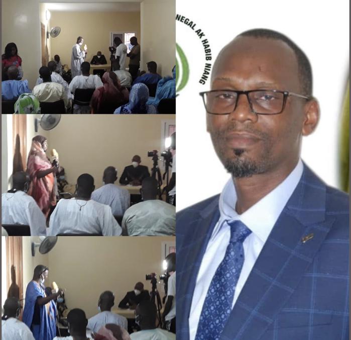 """Locales 2022 / Ralliement : Habib Niang décroche le soutien du GIE """"NIAXX JARINU"""" et celui de l'Association des Maures de Thiès-Nord pour la mairie."""