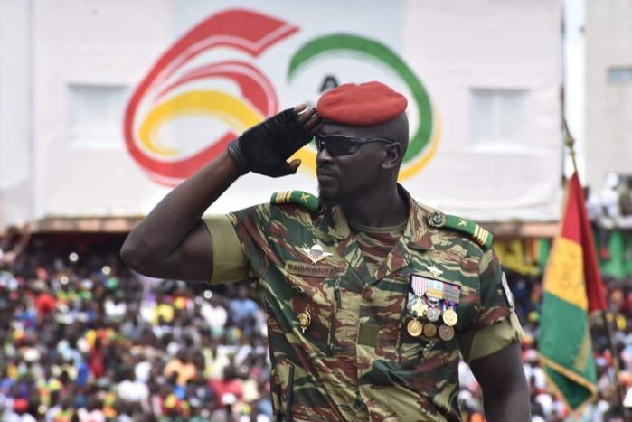 Putsch en Guinée Conakry : Qui est le Lieutenant-Colonel Mamady Doumbouya, commandant du groupement des forces spéciales (GPS).