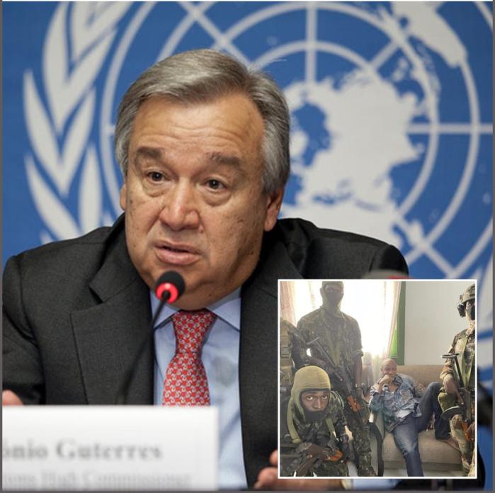 Action militaire en Guinée : le SG des Nations Unies condamne