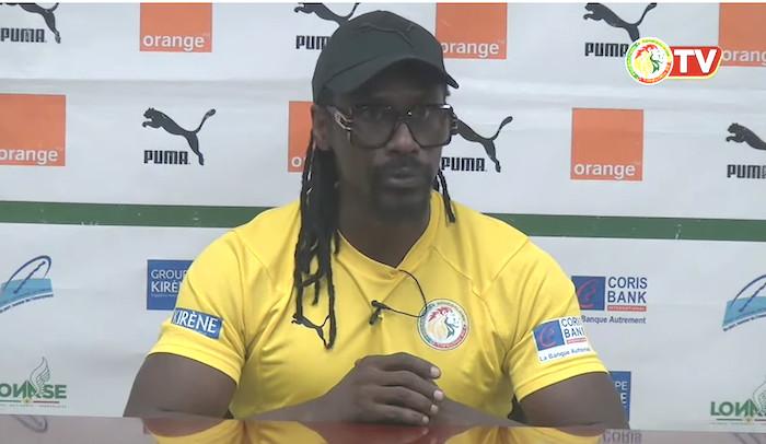 Zone rouge - Covid-19 / Match contre la Namibie : Aliou Cissé étale ses craintes.