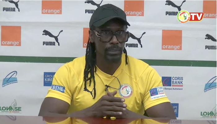 Mondial 2022 : Aliou Cissé n'exclut pas des changements contre le Congo