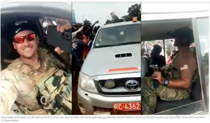 Coup d'État en Guinée : que faisaient ces soldats américains avec des forces spéciales guinéennes ?