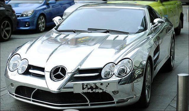 Parmi tous les joueurs de football, El hadj Diouf conduit la deuxième voiture la plus chère au monde