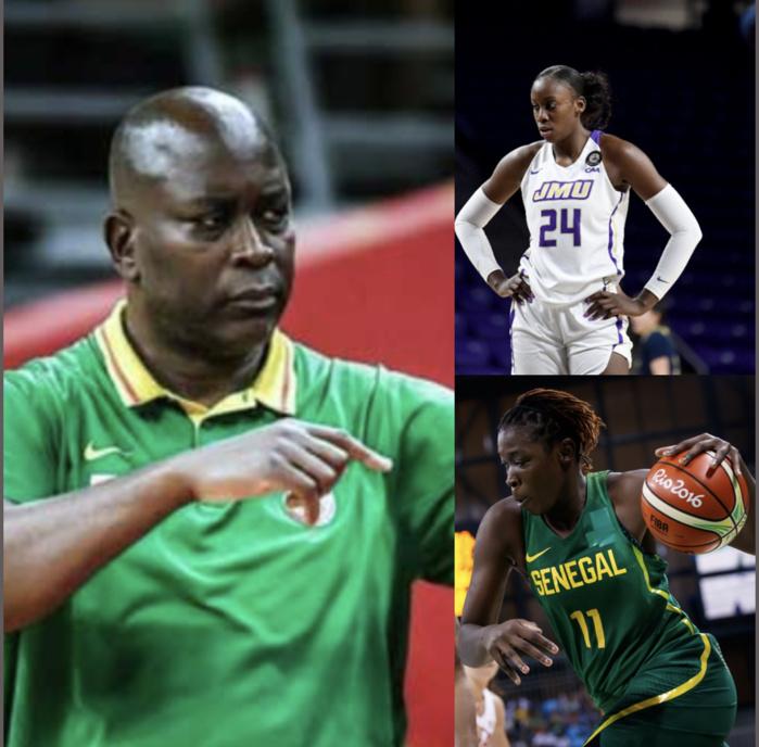 Afrobasket féminin 2021 : Anne Françoise Diouf sélectionnée puis éjectée de la liste, Maïmouna Diarra préférée par Tapha Gaye...