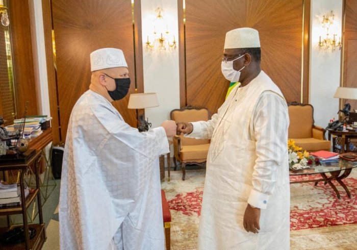 Visite officielle : Le procureur de la CPI reçu au palais.