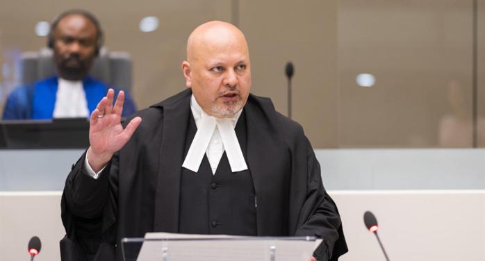 Le procureur de la CPI à  sortie d'audience au palais : « La Cour pénale internationale doit être un organe de dernier recours »