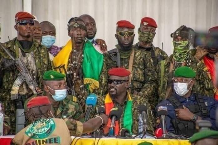 Guinée : Le colonel Mamady Doumbouya lance le début des concertations.