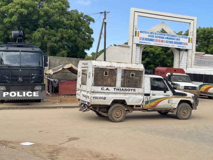 Marche à Guédiawaye contre la hausse des prix des denrées : Le Préfet interdit la manifestation, les forces de l'ordre à pied d'œuvre
