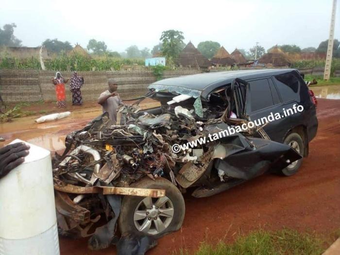 Tamba : On en sait d'avantage sur l'accident du député Moustapha Guirassy.