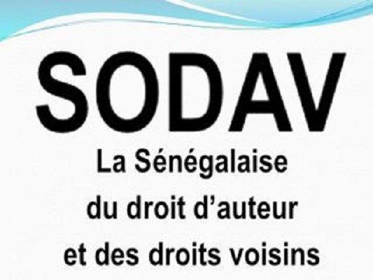 Droits numériques du 1er semestre 2021 : La Sodav annonce le paiement d'un montant global de 54 104 116 francs CFA.