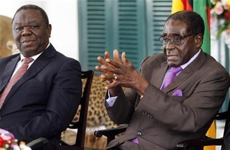 Que faisait Robert Mugabe à Dakar?
