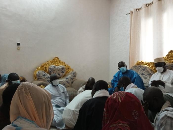 Touba - Visite de courtoisie : Le Dg de l'Artp, Abdoul Ly et sa délégation reçue par  Serigne Mountakha Mbacké...