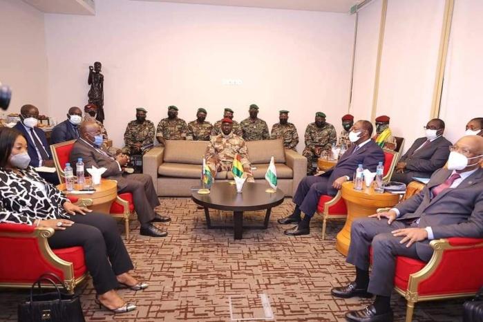 Guinée : arrivée de la délégation de Haut niveau de la CEDEAO