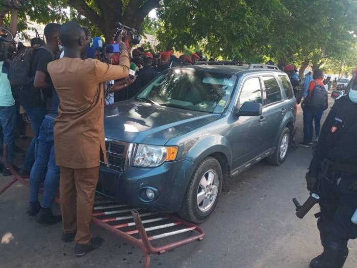 Place de la Nation- marche contre la vie chère: plusieurs arrestations de manifestants