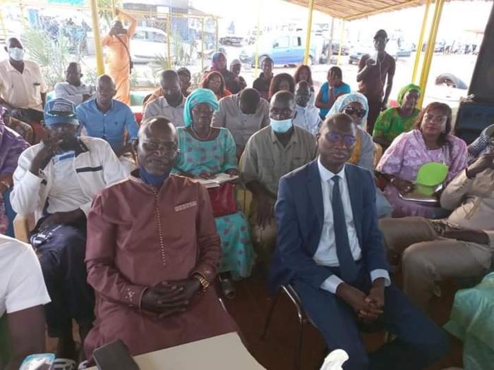 Ville de Rufisque/Locales 2022 :  Les transporteurs de Rufisque soutiennent la candidature de Ismaïla Madior Fall.