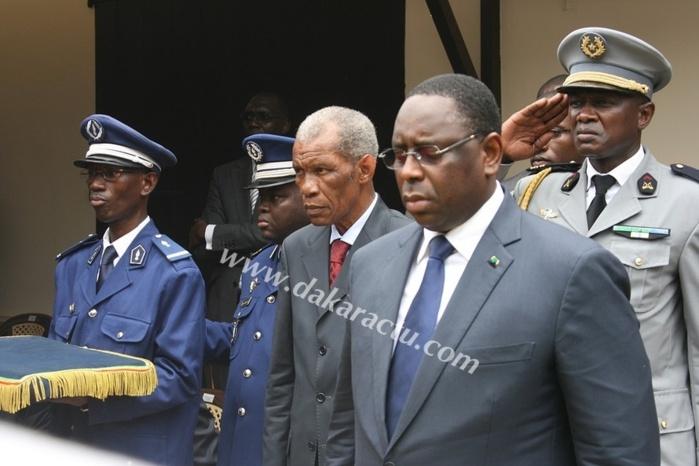 Le président Macky Sall est arrivé à Keur Momar Sarr (PHOTOS)