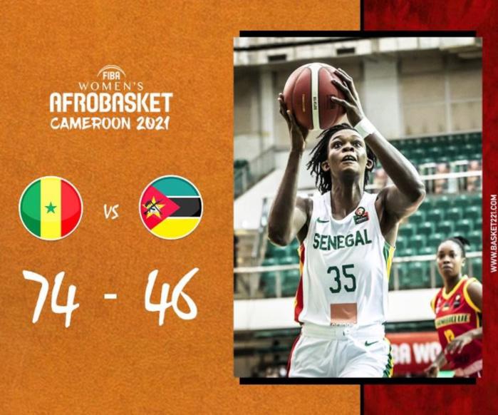 Afrobasket féminin : le Sénégal en demi-finale, le Nigeria prochain adversaire des Lionnes...