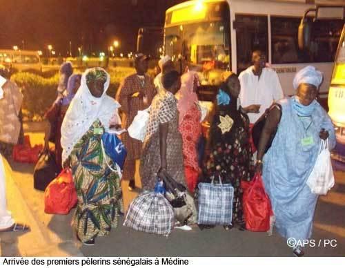 Le sixième vol des pèlerins sénégalais est arrivé à Médine