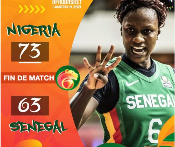 Demi-finale Afrobasket féminin 2021 : Les Lionnes surclassées par le Nigeria...